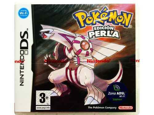 Pokemon perla pearl en español nuevo - nintendo ds 2ds &