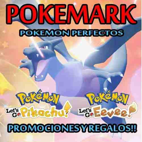 Pokemon shiny let's go pikachu eevee competitivo legendarios