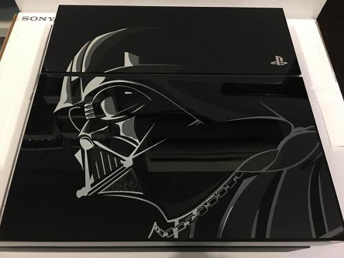 Ps4 edición limitada battlefront star wars darth vader