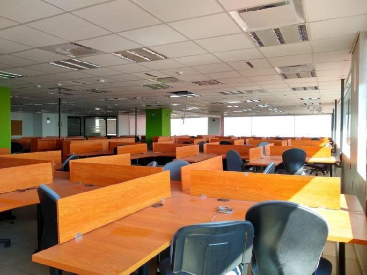 Renta 520m2, oficina incluye mobiliario, veronica,anzures,