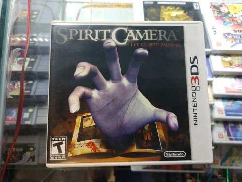 Spirit camera nintendo 3ds