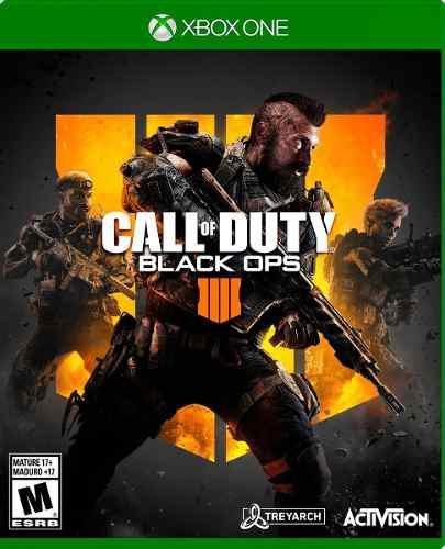 Call of duty black ops 4 para xbox one. nuevo y sellado.