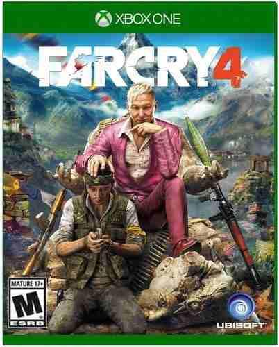 Far cry 4 xbox one nuevo y sellado juego videojuego