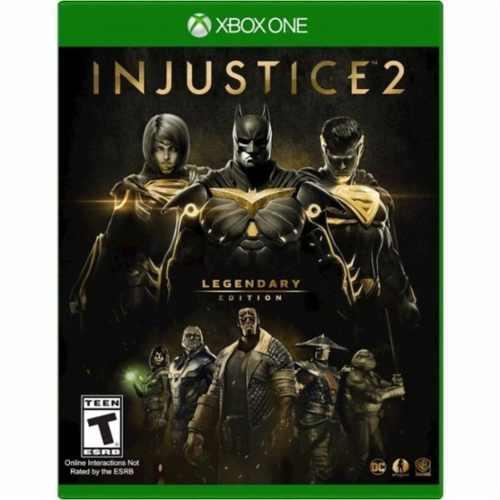 Injustice 2 legendary edition xbox one nuevo