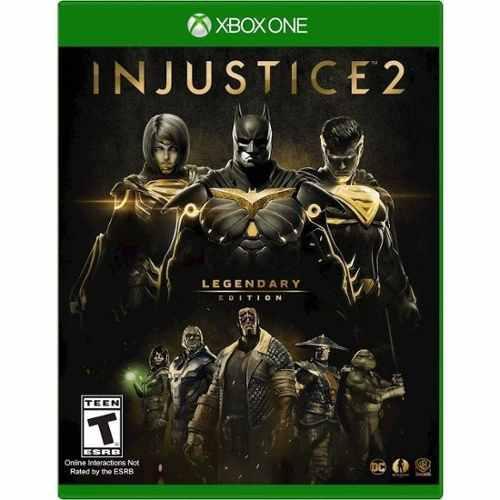 Injustice 2 - legendary edition xbox one offline no codigo