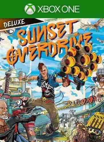 Sunset overdrive edición deluxe - xbox one - offline
