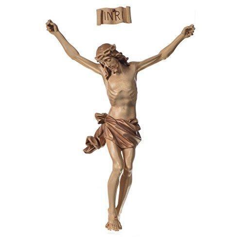 Cuerpo de cristo holyart en madera de valgardena, modelo mul