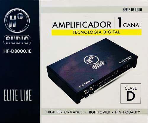 Nuevo amplificador hf audio 8000.1d potencia y calidad