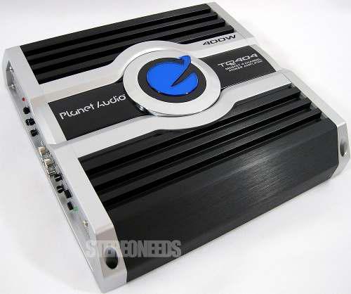 Planet audio tq804 400w 50 w x 4 rms amplificador