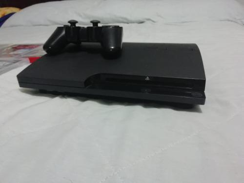 Consola ps3 slim 160gb con control y videojuegos originales