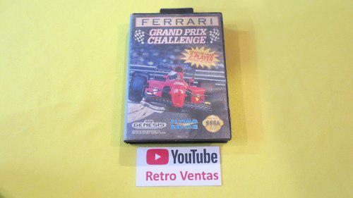 Ferrari grand prix challenge sega genesis **completo**