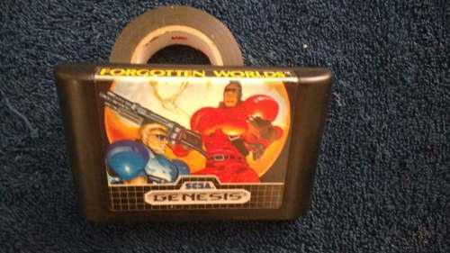 Forgotten Worlds Sega Raro Estilo Naves