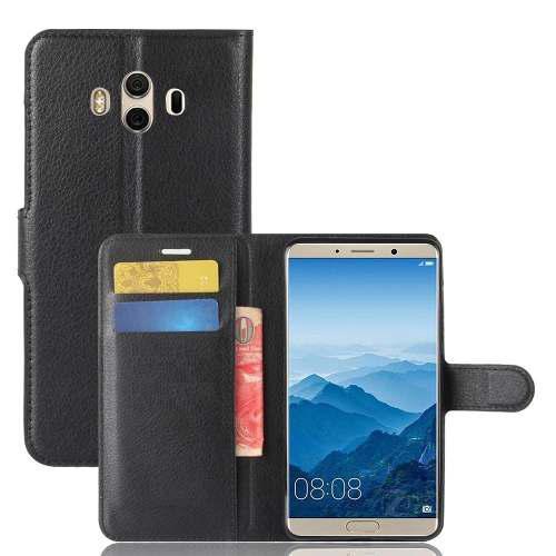 Huawei mate 10 funda cartera con stand