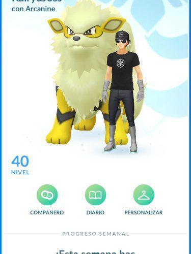 Pokemon go level 40 poke
