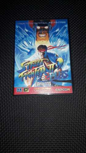 Street fighter ii plus, sega mega drive