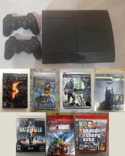 V/c consola de videojuegos sony playstation 3 ps3