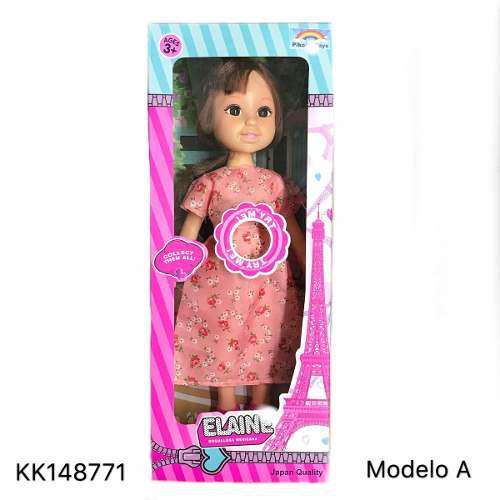 1pz juguete muñeca elaine 4modelos canta regalo niñas