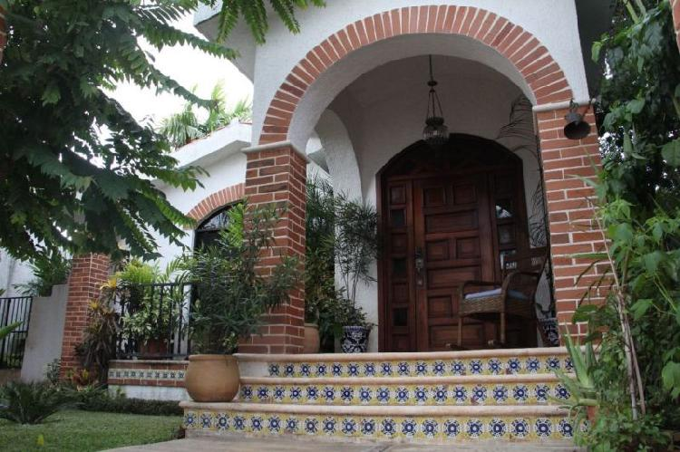 Casa colonial en san ramón norte amueblada /