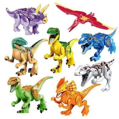Excelente Set 8 Dinosaurios De Colores Armables Compatible En Mexico Clasf Juegos Los dinosaurios se clasifican según como tenian su cadera, por lo que tenemos dos tipos de dinosaurios, los saurisquios y los ornitisquios. excelente set 8 dinosaurios de colores