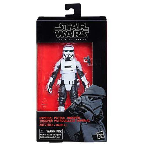 Figura imperial patrol trooper star wars black series hasbro