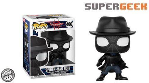 Funko pop hombre araña spider man noir spiderverse (1