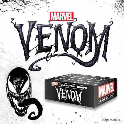 Funko pop marvel collector corps venom exclusive talla:smlxl