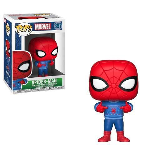 Funko pop marvel spiderman xmas 397 navidad