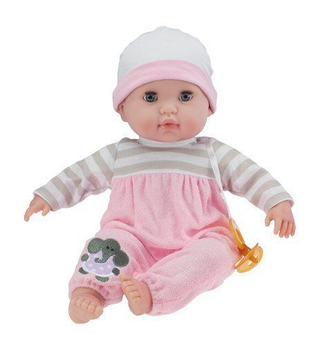 Muñeca de cuerpo suave rosa.39cm berenguer boutique