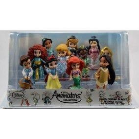 Set de 11 figurines princesas disney animator merida
