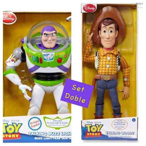 Toy story buzz lightyear y woody hablan español e inglés