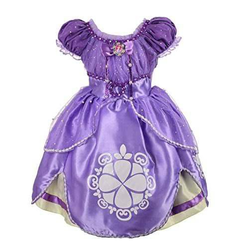 Vestir A La Princesa Sofia De Daisy Baby Girls Vestir Cospla