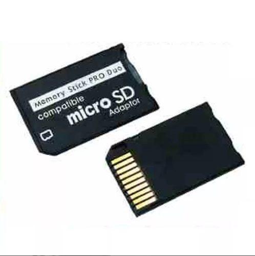 Adaptador de memorias micro sd a pro duo para psp o camaras