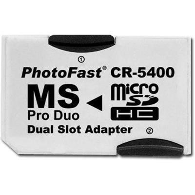 Adaptador micro sd a pro duo photofast hasta 32gb psp camara