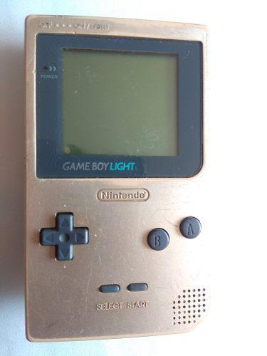 Game boy light nintendo