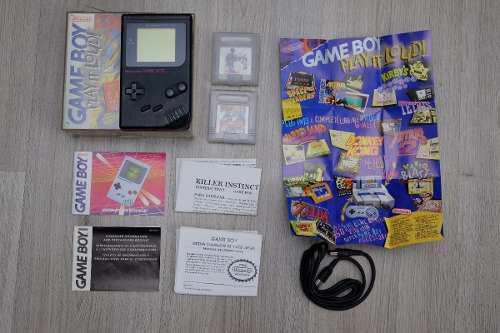 Gameboy tabique clasico negro excelente play it loud!.