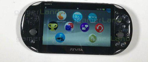 Ps vita slim 4gb, juegos en memoria, cable usb preg disp