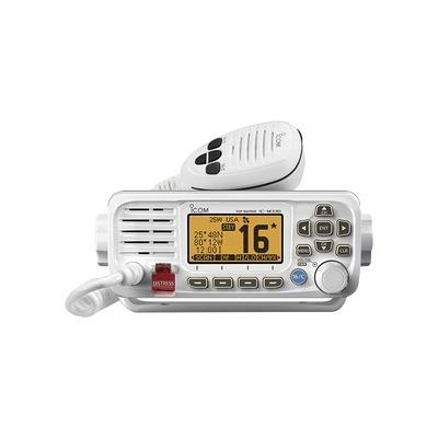 Radio móvil marino icom, color blanco, icm330/21