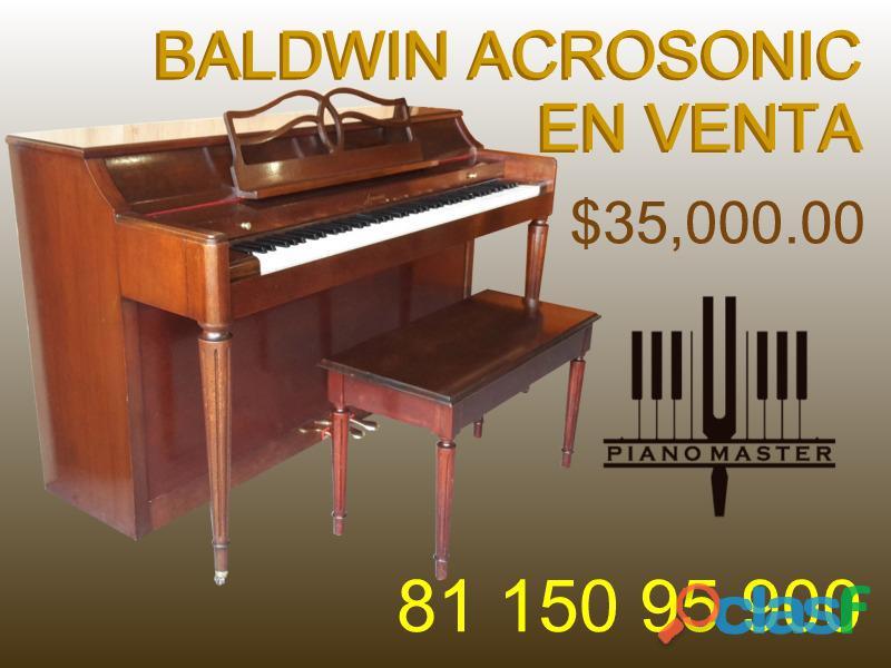 "Piano baldwin acrosonic espineta 36"", cincinnati, eua"