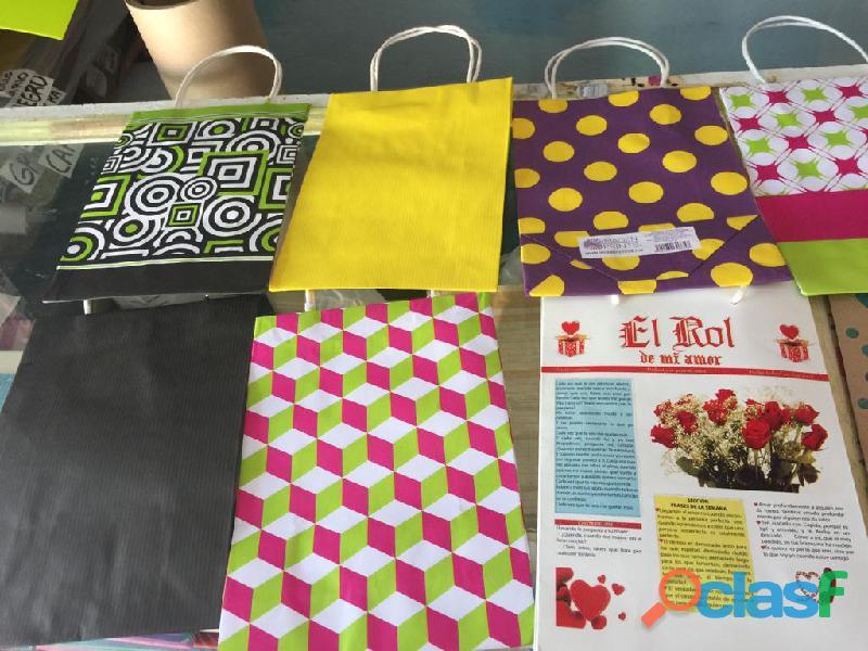 Vendo lote de bolsas para regalo de 1000 pz
