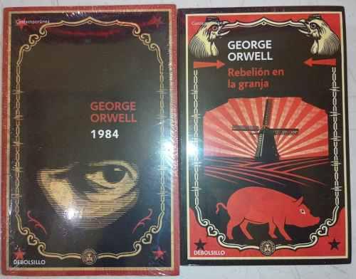 1984 y rebelión en la granja... george orwell dhl