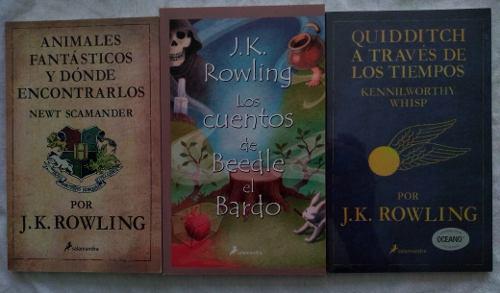 Animales fantásticos + quidditch + cuentos beedle