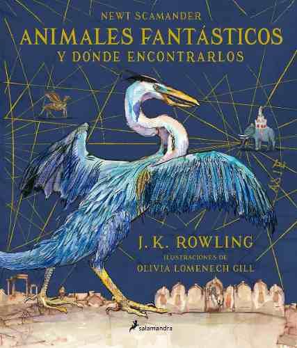 Animales fantásticos y dónde encontrarlos ilustrada