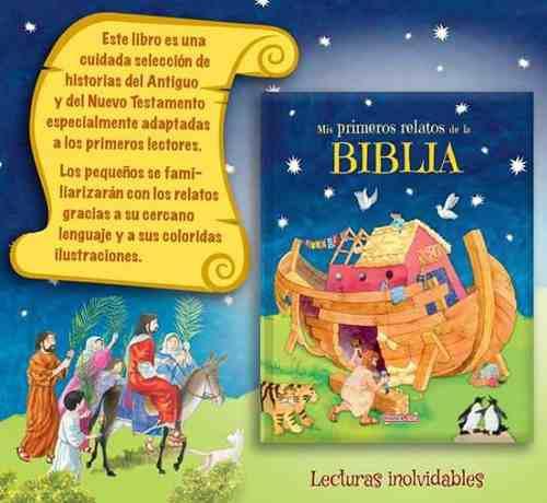 Biblia para niños pasta dura, ilustrada