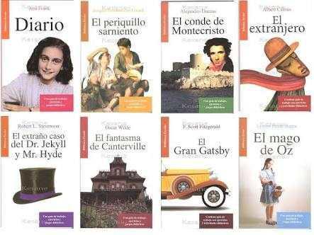 Clasicos de la literatura universal para niños paquete de