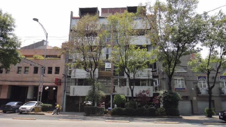 Departamento en renta en chilpancingo, roma sur