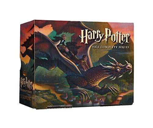 Harry potter saga coleccion de libros completa [ingles] lujo