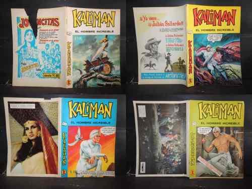 Kaliman varios numeros promotora k 1971 y 1973