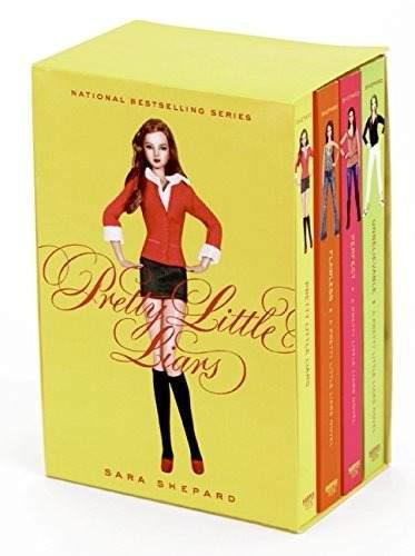 Libro pretty little liars coleccion 4 libros original dhl