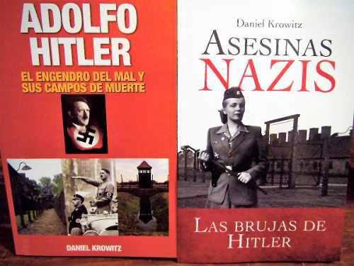 Paquete asesinas nazis + a hitler engendro del mal