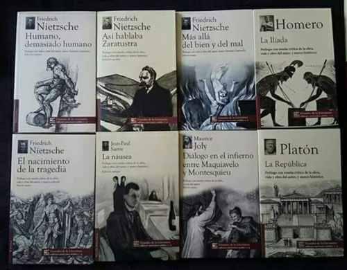 Paquete d 10 libros grandes obras de la literatura universal